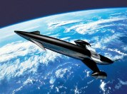An artist's impression of the Skylon space plane