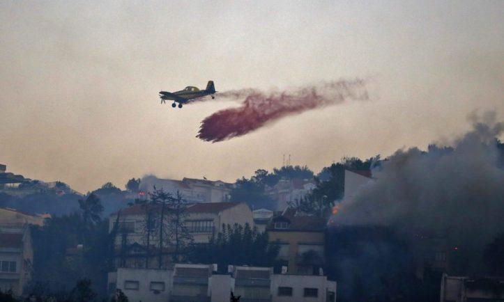 ISRAEL-FIRE-HAIFA